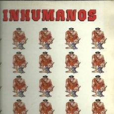 Discos de vinilo: LOS INHUMANOS LP SELLO ZAFIRO AÑO 1988 EDITADO EN ESPAÑA. Lote 51635884