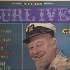 Discos de vinilo: LP-BURL IVES / CHAD WILLIS & THE BEACHSTONES CORONET 271 USA 196??? FOLK. Lote 51638276