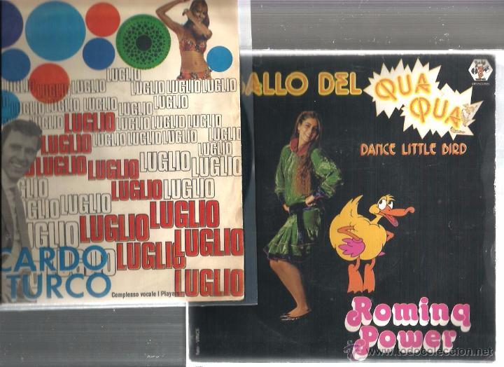 Discos de vinilo: 8 SINGLES ITALIA : MATIA BAZAR + N. DI BARI + G. MORANDI + NADA + M. RANIERI + I PROFETI + ROMINA - Foto 4 - 51645124