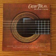 Discos de vinilo: CACHO TIRAO - SIN LUGAR A DUDAS - LP - VINILO. Lote 51645137