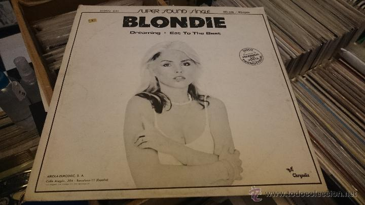 BLONDIE DREAMING EAT TO THE BEAT AMII STEWART JEALOUSY HES A BURGLAR MAXI SINGLE PROMOCIONAL (Música - Discos de Vinilo - Maxi Singles - Pop - Rock Extranjero de los 70)