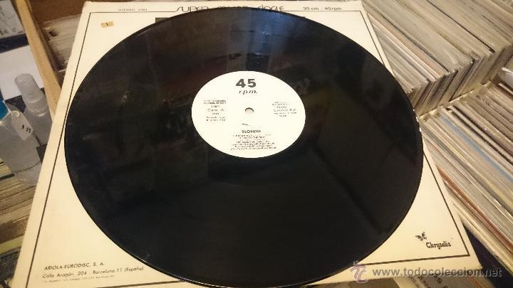 Discos de vinilo: Blondie Dreaming Eat to the beat Amii Stewart jealousy hes a burglar Maxi single Promocional - Foto 2 - 51650068