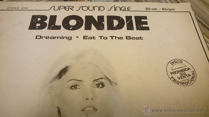 Discos de vinilo: Blondie Dreaming Eat to the beat Amii Stewart jealousy hes a burglar Maxi single Promocional - Foto 3 - 51650068