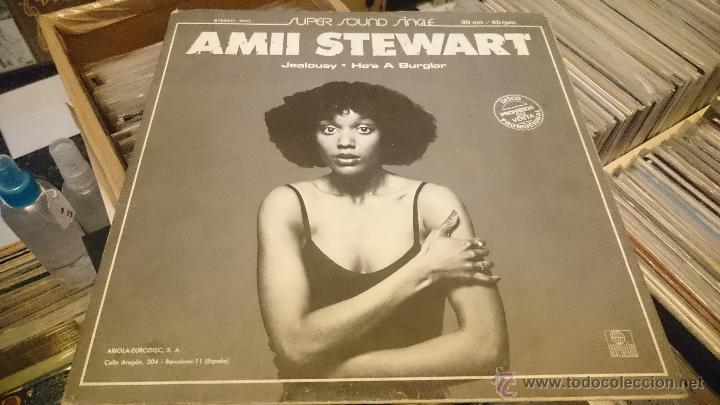 Discos de vinilo: Blondie Dreaming Eat to the beat Amii Stewart jealousy hes a burglar Maxi single Promocional - Foto 4 - 51650068