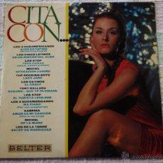 Discos de vinilo: CITA CON... LOS STOP, MICHEL, SABRINA, LOS DE LA TORRE, THE ROCKING BOYS,... 1967 - SPAIN LP33. Lote 51650962