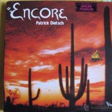 Discos de vinilo: LP - PATRICK DIETSCH - ENCORE (FRANCE, VOGUE DISCOS 1979). Lote 51652202