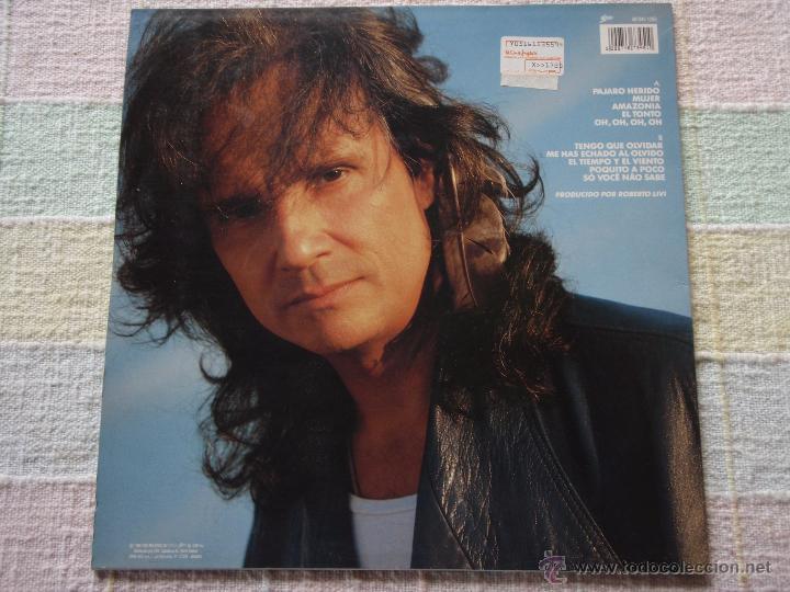 Discos de vinilo: ROBERTO CARLOS ( PAJARO HERIDO ) 1990 - SPAIN LP33 EPIC - Foto 2 - 51649771