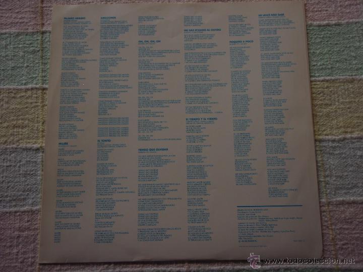 Discos de vinilo: ROBERTO CARLOS ( PAJARO HERIDO ) 1990 - SPAIN LP33 EPIC - Foto 4 - 51649771