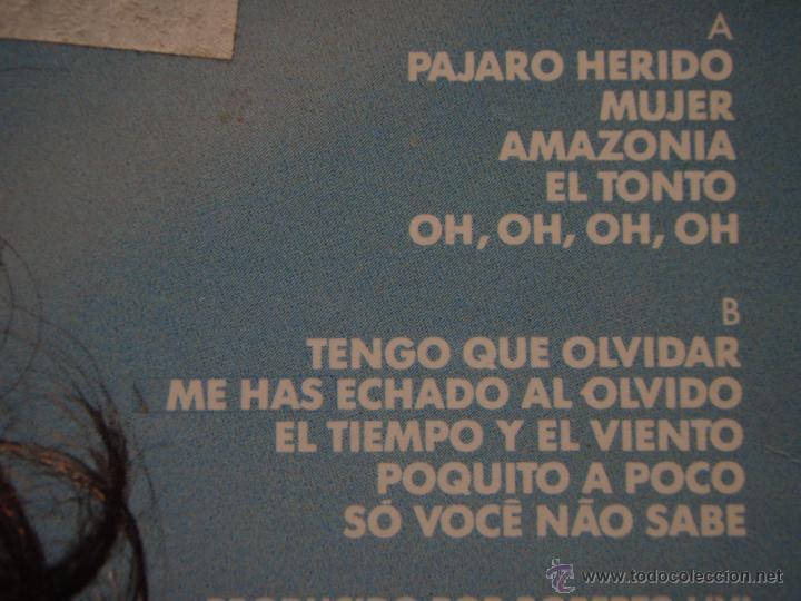 Discos de vinilo: ROBERTO CARLOS ( PAJARO HERIDO ) 1990 - SPAIN LP33 EPIC - Foto 5 - 51649771