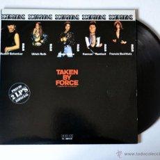 Discos de vinilo: DISCO DE VINILO: DOBLE LP. SCORPIONS: TAKEN BY FORCE. AÑO 1982. Lote 51654322
