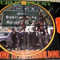 Discos de vinilo: PUBLIC ENEMY MAXI WELCOME TO THE TERROR DOME.ESPAÑA 1989. Lote 51654854