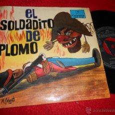 Discos de vinil: EL SOLDADITO DE PLOMO CUADRO ACTORES DE RADIO MADRID EP 1966 CUENTO DIRECTOR BOLICHE. Lote 51656587