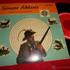 Discos de vinilo: TRIO ZILLERTALER JODLER+TRIO MAYRHOFEN++ CANCION TROPAS MONTAÑESAS EP 1958 ESPAÑA SPAIN MILITAR. Lote 51656633
