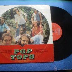 Discos de vinilo: LOS POP-TOPS POP TOPS LP SPAIN 1971 PDELUXE. Lote 51659248