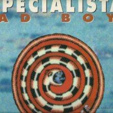 Discos de vinilo: LOS ESPECIALISTAS : BAD BOYS / LA SERPIENTE. (MAXI 45 RPM, POLYDOR, 1995). Lote 51660921