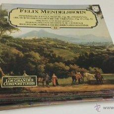 Discos de vinilo: 24 DISCOS DE VINILO DE ENCICLOPEDIA SALVAT GRANDES COMPOSITORES MUSICA CLASICA. Lote 51663513