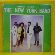 Discos de vinil: WILFRIDO VARGAS - THE NEW YORK BAND - LP. Lote 51672163