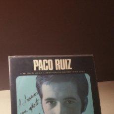 Discos de vinilo: PACO RUIZ COMO TANTAS VIDAS +3 EP. Lote 51673613