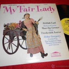 Discos de vinilo: MY FAIR LADY BRITISH CAST FREDERICK LOEWE LP FORUM CIRCLE FCS-9105 EDICION AMERICANA USA. Lote 51679148