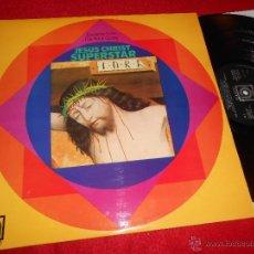 Discos de vinilo: JESUS CHRIST SUPERSTAR EXCERPTS FROM THE ROCK OPERA LP 1972 AVENUE EDICION INGLESA ENGLAND UK. Lote 51679159