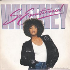 Discos de vinilo: WHITNEY HOUSTON,SO EMOTIONAL DEL 87. Lote 51679809