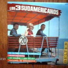 Discos de vinilo: LOS 3 SUDAMERICANOS - CATEDRAL DE WINCHESTER + 3. Lote 51680428