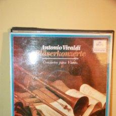 Discos de vinilo: VINILO VIVALDI - CONCIERTOS PARA INSTRUMENTOS DE VIENTO 1983. Lote 51690573