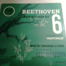 Discos de vinilo: BEETHOVEN: SIINFONIA N. 6. PASTORAL. OTTO KLEMPERER. PATHÉ VOX. VP. 100. Lote 51703133