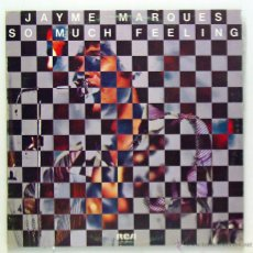 Discos de vinilo: JAYME MARQUES - 'SO MUCH FEELING' (LP VINILO. ORIGINAL 1977). Lote 51706305