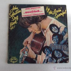 Discos de vinilo: JOHN SEBASTIAN SONG BOOK VOL.1, THE WOODSTOCK MOVIE, KAMA SUTRA RECORDS 1967 MADE IN ENGLAND. Lote 51708788
