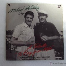 Discos de vinilo: MICHAEL HOLLIDAY SINGS, A TRIBUTE TO BING FROM MIKE, DISCO EDICION INGLESA 1962. EMI RECORDS. Lote 51709104