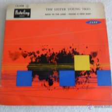 Discos de vinilo: LESTER YOUNG - BACK TO THE LAND + 3 EP. Lote 51709163