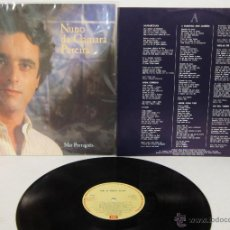 Discos de vinilo: NUNO DA CAMARA PEREIRA - MAR PORTUGUES / FADO - LP - EMI 1986 PORTUGAL CON LETRAS. Lote 51715932