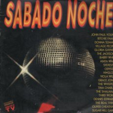 Discos de vinilo: SABADO NOCHE 2 LP. Lote 51719469