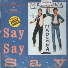 Discos de vinilo: PAUL MCCARTNEY MICHAEL JACKSON MAXI SINGLE. Lote 51719873