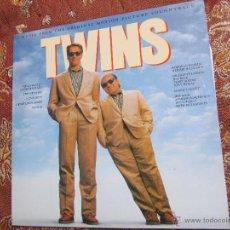Discos de vinilo: TWINS- LP DE VINILO-B.S.O.- CON 11 TEMAS- ORIGINAL DEL 88-CON PHILIP BAILEY-LITTLE RICHARD ETC-NUEVO. Lote 51724149