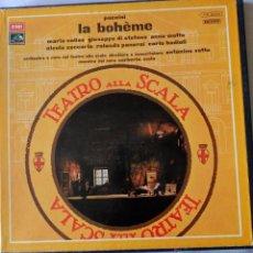 Discos de vinilo: LA BOHÉME. MARIA CALLAS. Lote 51725008