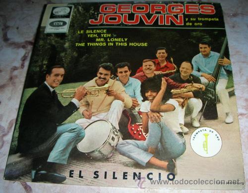 GEORGES JOUVIN - EL SILENCIO + 3 - EP LA VOZ DE SU AMO (Música - Discos de Vinilo - EPs - Orquestas)
