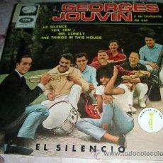 Discos de vinilo: GEORGES JOUVIN - EL SILENCIO + 3 - EP LA VOZ DE SU AMO. Lote 51732791