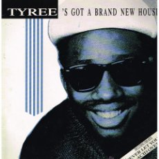Discos de vinilo: TYREE - TYREE'S GOT A BRAND NEW HOUSE - LP 1988. Lote 51733250