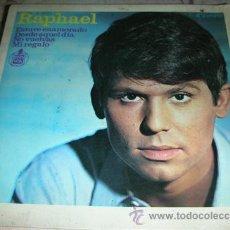 Discos de vinilo: RAPHAEL - ESTUVE ENAMORADO + 3 - EP. Lote 51733251