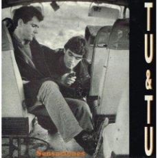 Discos de vinilo: TU & TU - SENSACIONES - MINILP 1988. Lote 51734890