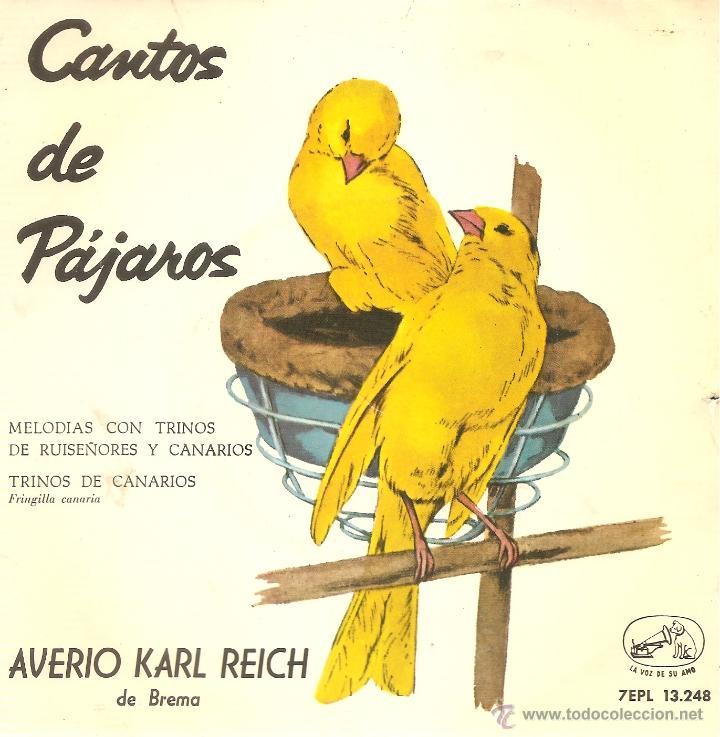 CANTOS DE PAJAROS SINGLE (Música - Discos - Singles Vinilo - Otros estilos)