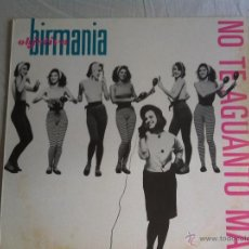 Discos de vinilo: 12 MAXI-OBJETIVIO BIRMANIA-NO AGUANTO MAS. Lote 51760203