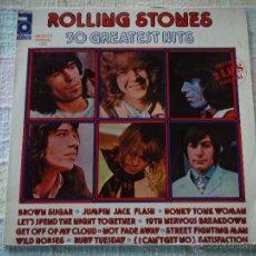 Discos de vinilo: THE ROLLING STONES – 30 GREATEST HITS 2 VINYLOS SPAIN,1977 ABKCO. Lote 51767599