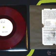 Discos de vinilo: K.S - NO REALITY / NO EXISTENCE - 10'' [BONEYARD RECORDS, 2010 · #36/250] BLACK METAL. Lote 51768648