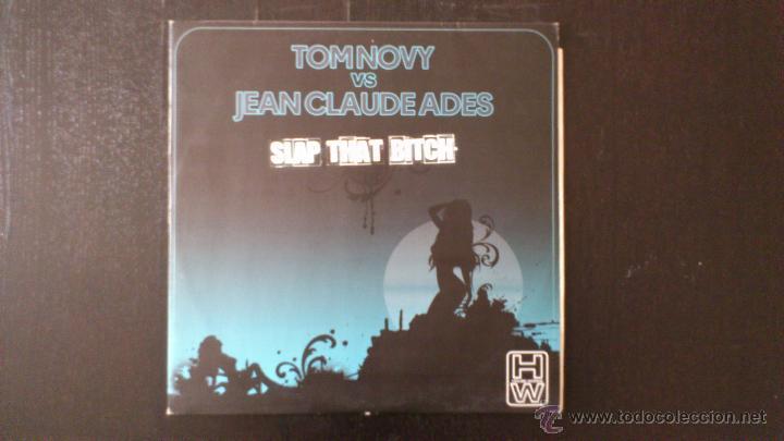 TOM NOVY VS JEAN CLAUDE ADES - SLAP THAT BITCH - MAXI - VINILO -12 - DIVUCSA - 2007 (Música - Discos de Vinilo - Maxi Singles - Techno, Trance y House)