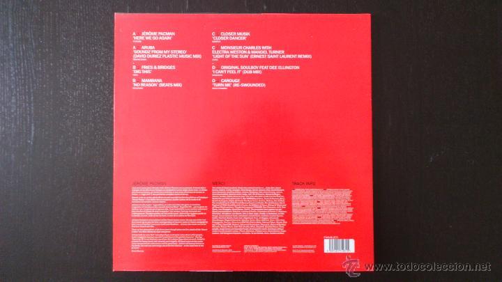 Discos de vinilo: JEROME PACMAN - JEROME PACMAN´S FAMILY - DOBLE LP - VINILO - FAMILIES - 2002 - Foto 3 - 51770072