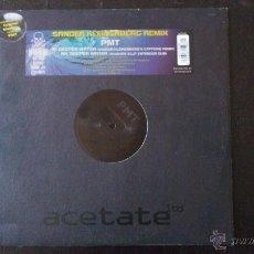 Discos de vinilo: SANDER KLEINENBERG REMIX - PMT - DEEPER WATER - MAXI - VINILO - FISH MUSIC - 2001. Lote 51770513