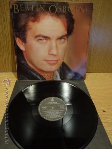 BERTÍN OSBORNE. DOS CORAZONES Y UN DESTINO. LP / HISPAVOX - 1986. BUENA CALIDAD. ***/*** (Música - Discos - LP Vinilo - Solistas Españoles de los 70 a la actualidad)